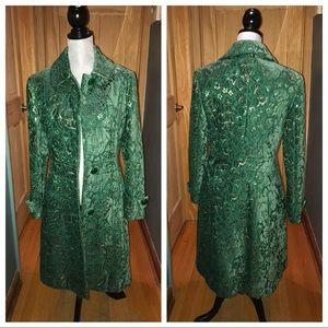 Jackets & Blazers - Gorgeous Green Fodera Bemberg Coat
